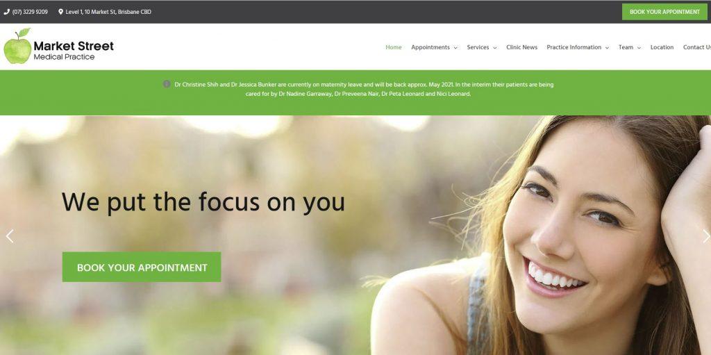 healthcare website designers